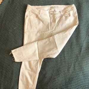 2 for $20White Old Navy Rockstar Jeans